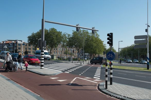 Dordtselaan Rotterdam zebrapad