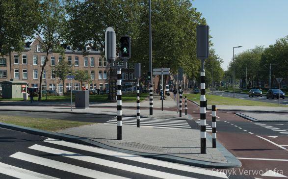 Inrichting oversteekplaats Dordtselaan Rotterdam