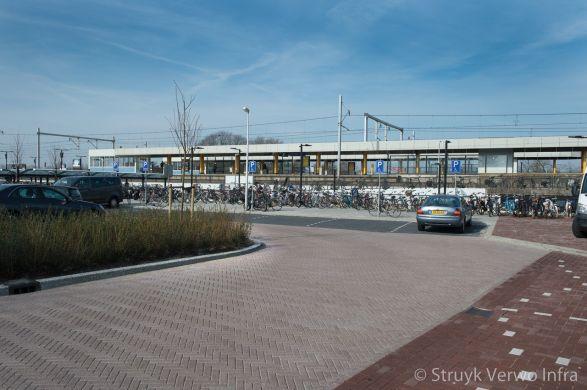 Herinrichting P+R parkeerterrein NS station Voorschoten