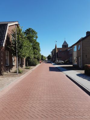 Geluidsreducerend wegdek Dorpsstraat Hagestein