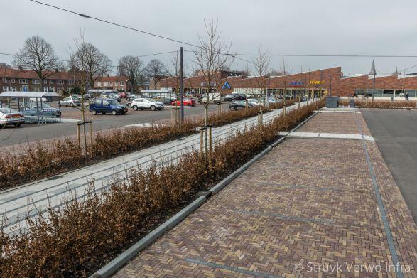 Bestrating Molenplein Heerenveen