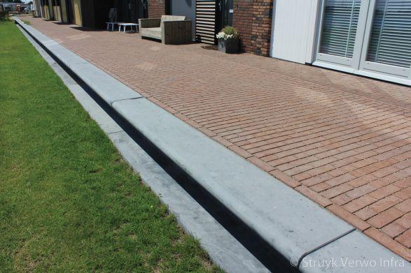 Maatwerk zitranden van beton voor woningen