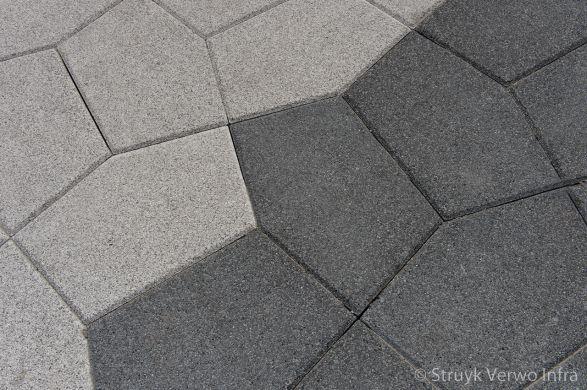 Vijfhoekstenen|parkstenen