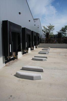 Wieldwinger beton voor laadstation