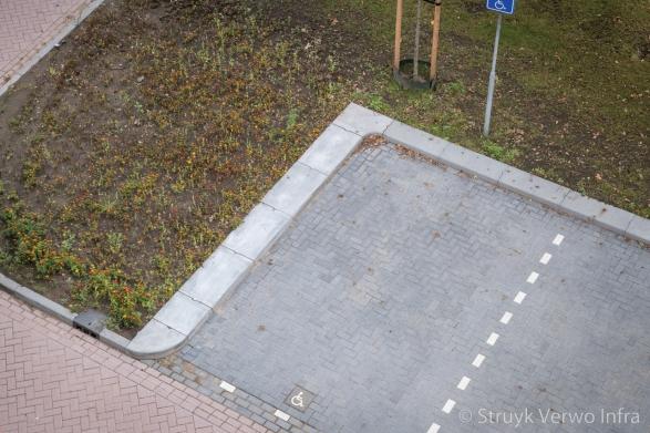 Makkelijk uitstappen rond parkeervak