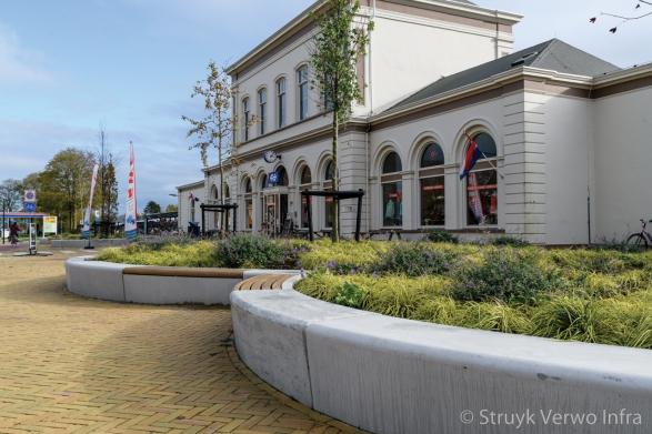 Groen in de stad|Inrichting Nieuwe Willemshaven in Harlingen