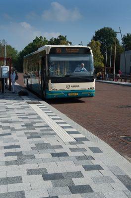 Herinrichting Kon. Julianaweg Middelharnis bushalte