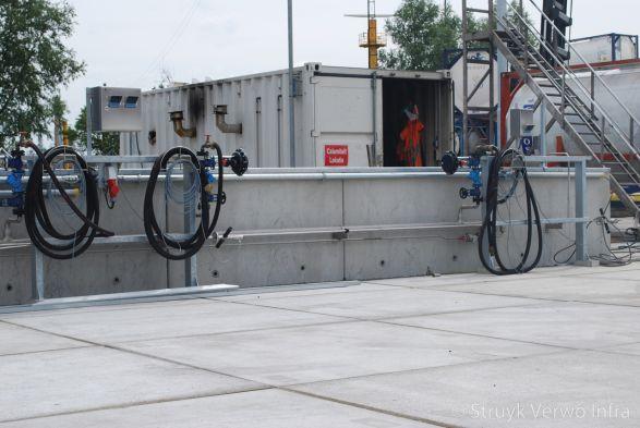 Vloeistofdichte vloerplaten|Rotterdam Botlek