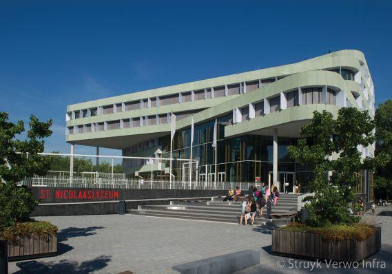 Nieuwbouw St Nicolaas Lyceum - Beethovenlaan - Amsterdam