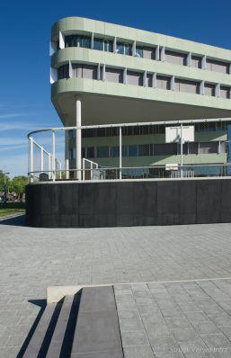 Prefab traptrede 50x16 zwart