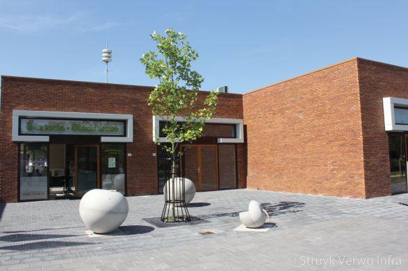 Klimappel|zitappel|winkelcentrum Legmeerplein Uithoorn