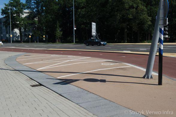 Renovatie Kruispunt 24 Oktoberplein Utrecht geslepen