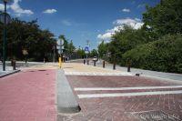 Verkeersremming kruispunt