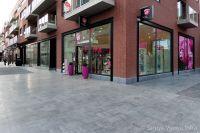 Luxe bestrating voor winkelcentrum