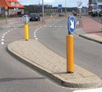 Aanleg verkeerseiland Katwijk