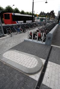 Fietsparkeervoorziening stationsplein