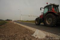 Bermbescherming landbouwgebied