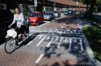 Verkeersremming parallelweg