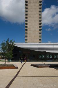 Inrichting buitenterrein Erasmus universiteit (2)