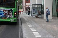 Exclusieve banden voor bushalte