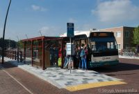 Moderne bushalteplaatsen