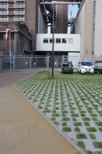 Groenbestrating in Energiepark