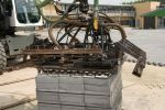 machinaal straten schoolplein|novato|Hungklinger bestratingsklem