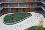 Bloembakband beton|binnentuin wooncomplex|parkbanden beton