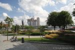 Geslepen betonbanden antraciet|Leuvehaven Rotterdam