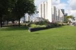 Geslepen betonbanden antraciet|Leuvehaven Rotterdam|zitranden beton