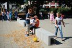 U-blok als zitbank|zitranden beton