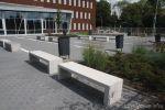 Parkbank klein|Jan Tibergen college Roosendaal