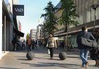 Sierbol Hoogstraat Rotterdam antiparkeer|betonnen afzetelement