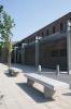 Betonnen meubilair voor Saunacomplex in Maarssen|parkbank|buitenmeubilair beton