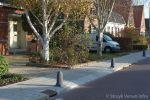 anti parkeerpaal beton in woonwijk