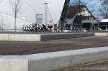 Plein|betonnen zitelementen|De Vorstin Schoolstraat Hilversum