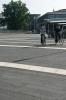 Betonstraatsteen 60x20|Breccia nero carborundum|bestrating rond fietsenstalling