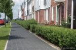 voetpad nieuwe woonwijk Bangert