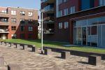 Afgebakende voetgangersgebieden|betonnen poef