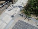 Verlaagd trottoir Loovelden
