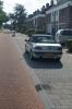 Verhoogd parkeren op trottoir