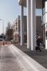 Traptrede geslepen|uitgewassen bestrating zwart 40x40|Rompertpassage Den Bosch|bloktrede beton