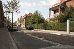 Parkeervakken in gerenoveerde jaren 30 woonwijk