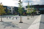 betonnen trapelement op Bonaireplein in Leiden|bloktrede beton
