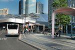 Brede trottoirband in Rotterdam