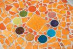 Mozaieken met een solid