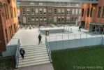 Traptreden wit voor entree school