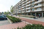 structura betonstraatstenen rood en zwart|Chopinplein in Culemborg