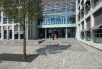 Bestrating in diverse kleuren en formaten rondom TU Delft