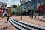 Betonnen traptreden zwart|Harmoniekwartier in Leeuwarden